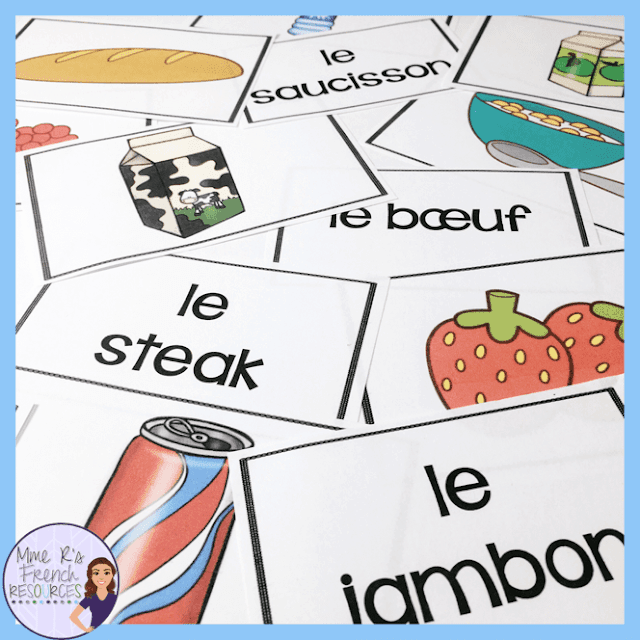French-food-vocbulary-game