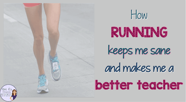 How running keeps me sane and makes me a better teacher