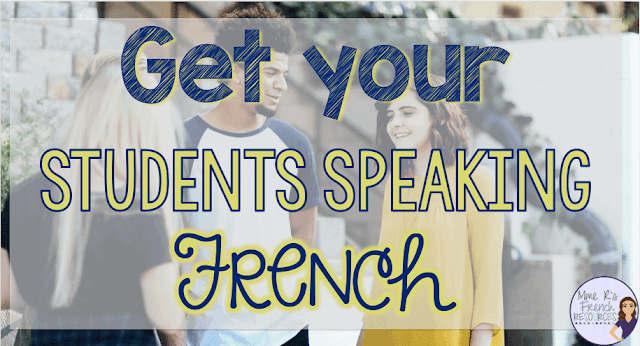 Get your students speaking French with these practical tips. Click here to read the blog post and find links to effective resources.