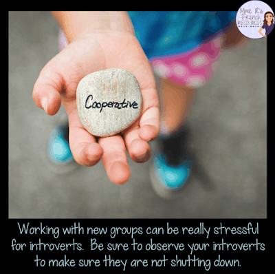 Intoverted students have a hard time with group work.