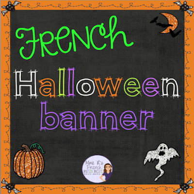 Click here for great blog post about French fall teaching ideas and get a FREE banner for your class!