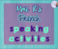 If you need some fun and meaningful ways to help your French students speak more French, you're in the right place!  Click here to find activities for beginning, intermediate, and advanced classes!