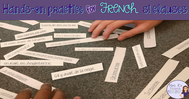 Hands-on practice for French si clauses!