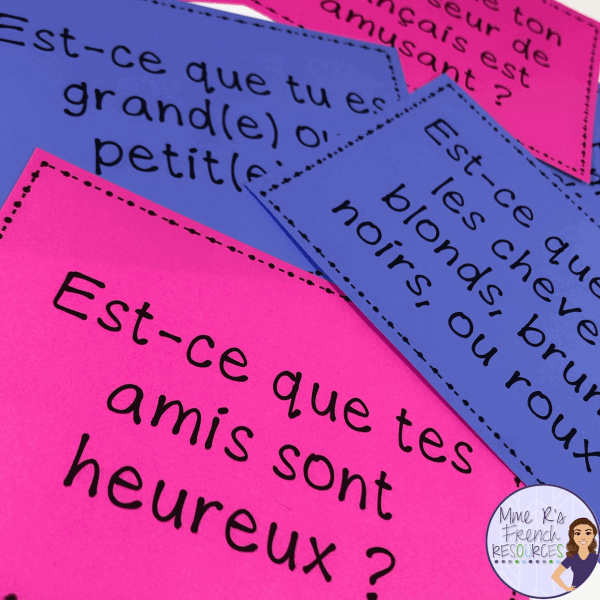 Fun French speaking activity for beginners!