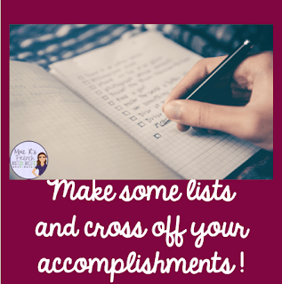 Make to-do lists so you don't waste away your summer.