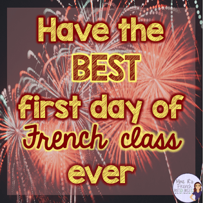 How to start the first day of school as a foreign language teacher.