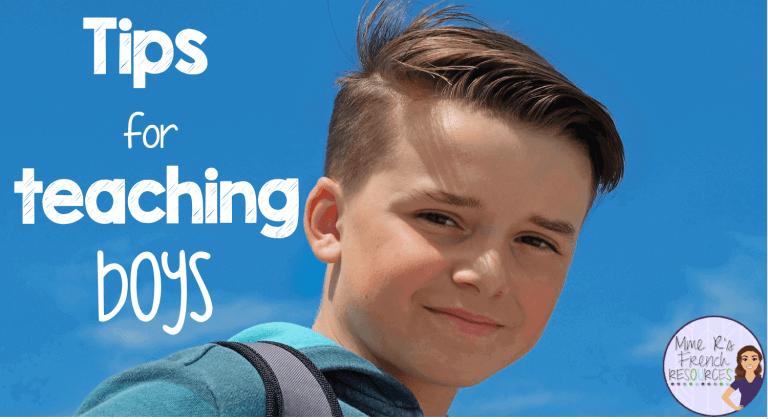 Tips for teaching boys
