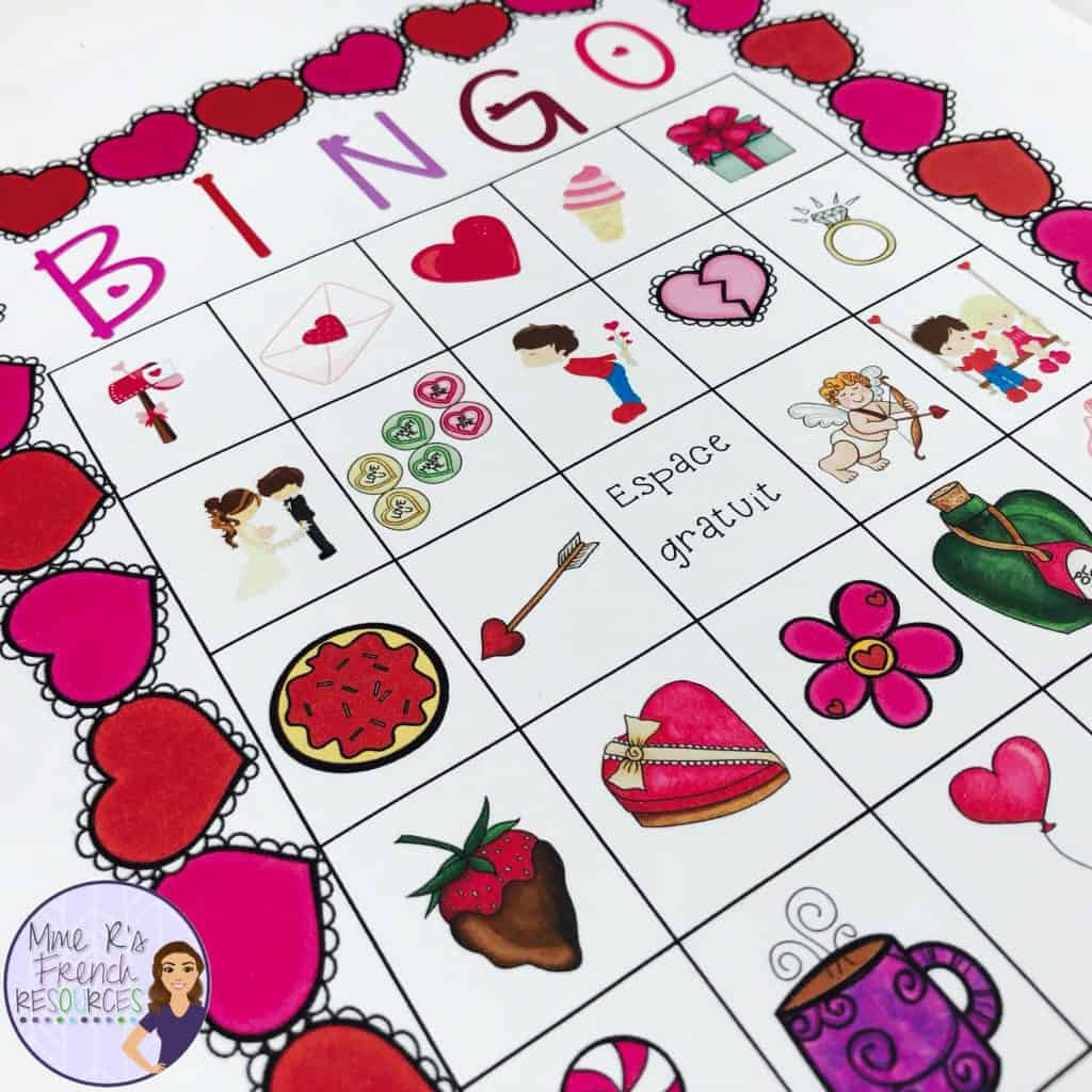 French-valentine-bingo