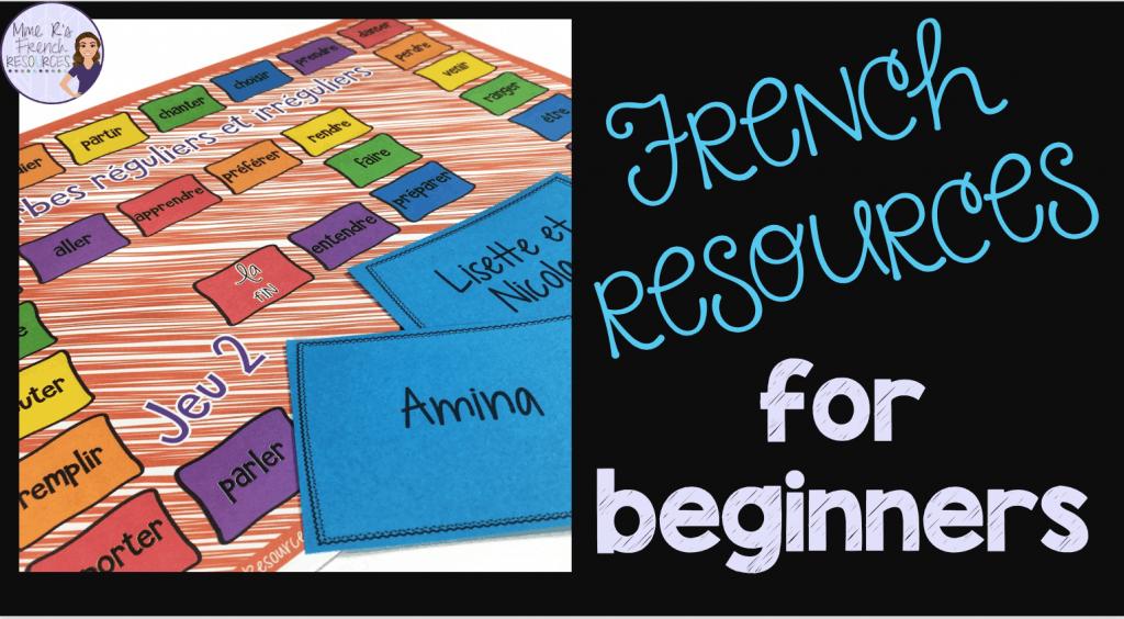 French-beginner-activities