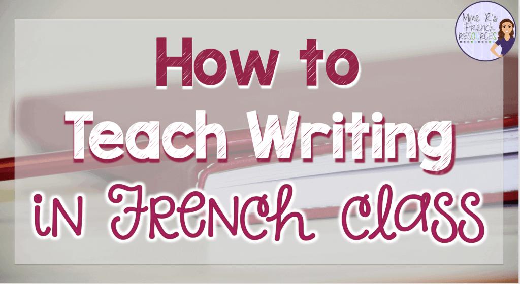 teaching-french-writing