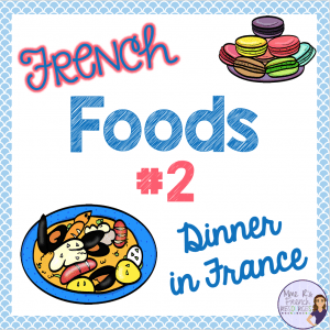 French-food-worksheets