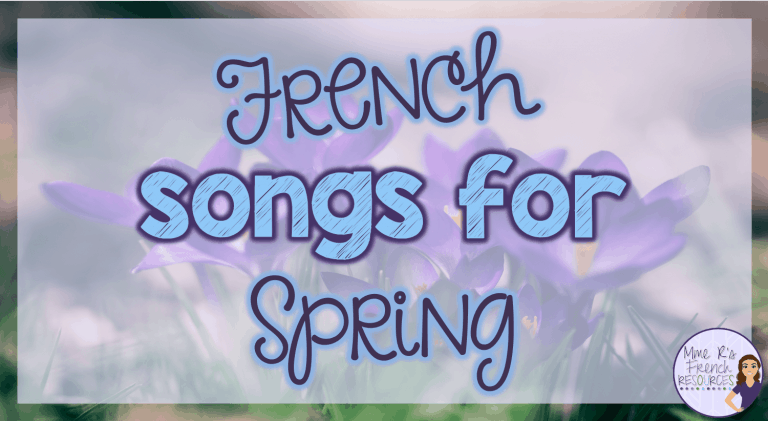 French songs for Spring