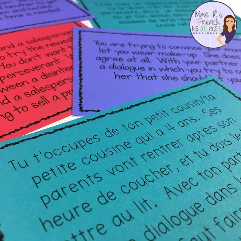 French-reflexive-verb-skits