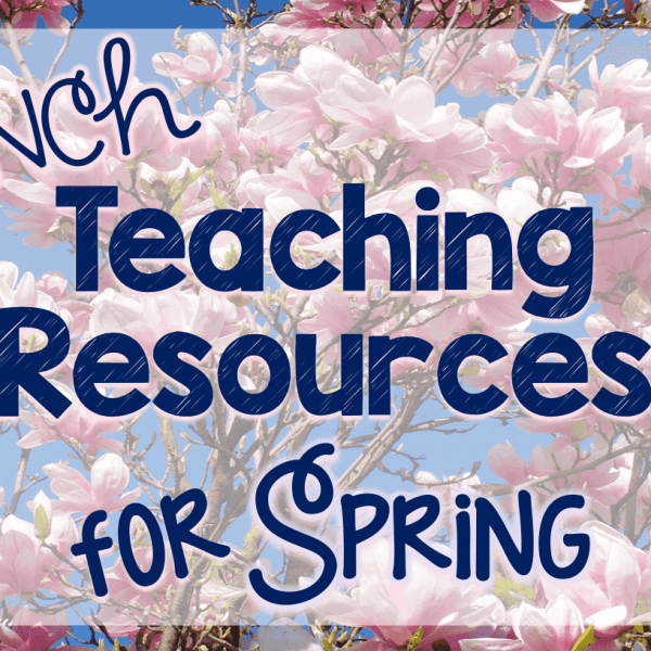 French spring teaching resources